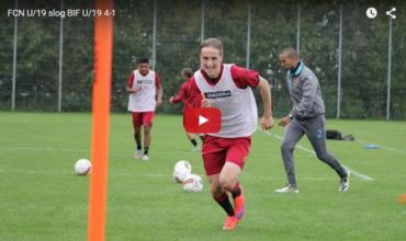 Video: Se FCN score fire mål mod Brøndby på én halvleg