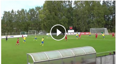 Video: Se Danmark U/19 ydmyge Sverige