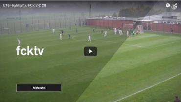 Højdepunkter: Se FCK U/19's målfest mod OB