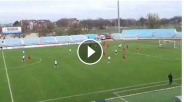 Højdepunkter: Se målene fra U/19-landsholdets vilde 7-1-sejr