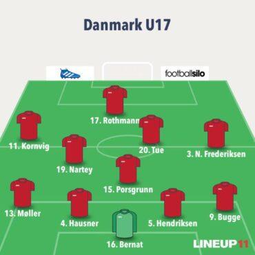 Danmark U/17 i finale trods nederlag