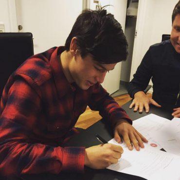 15-årige Oliver Villadsen på kontrakt i FCN