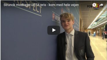 Video: U/17-landsholdsanfører modtager Fair Play-pris